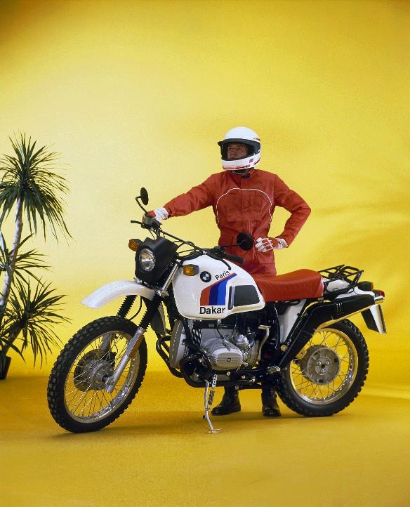 Bmwparison: Moto BMW Paris Dakar
