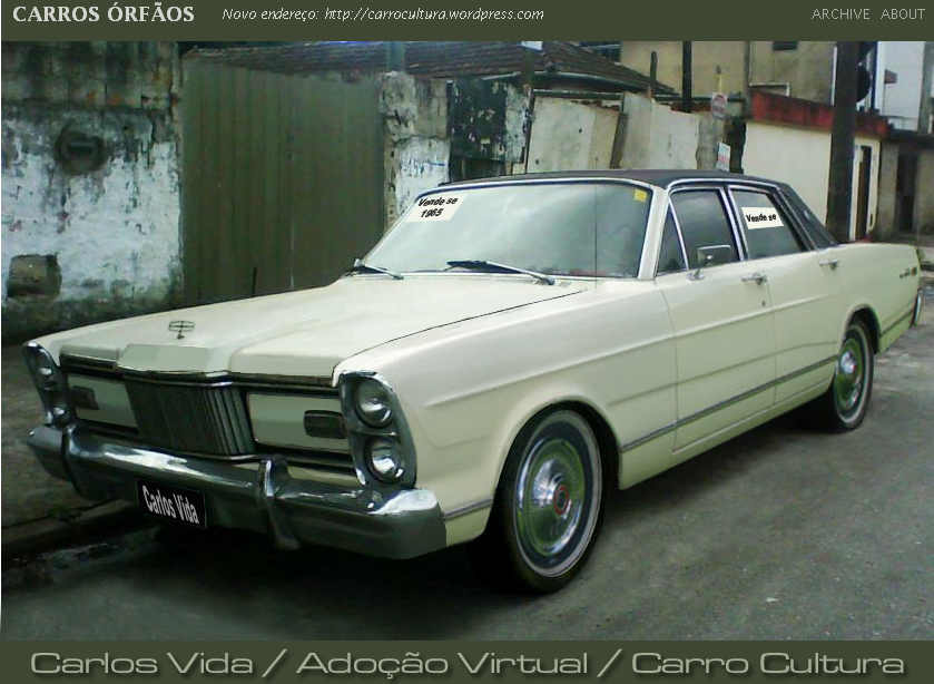 Adoção virtual ford galaxie